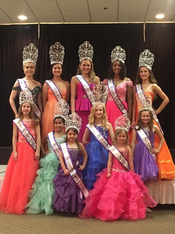 Winners Sunburst Beauty Pageant